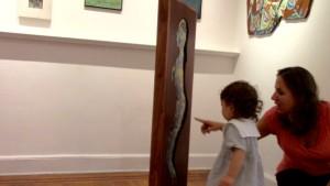 Little Alta Sklar learns about enamel